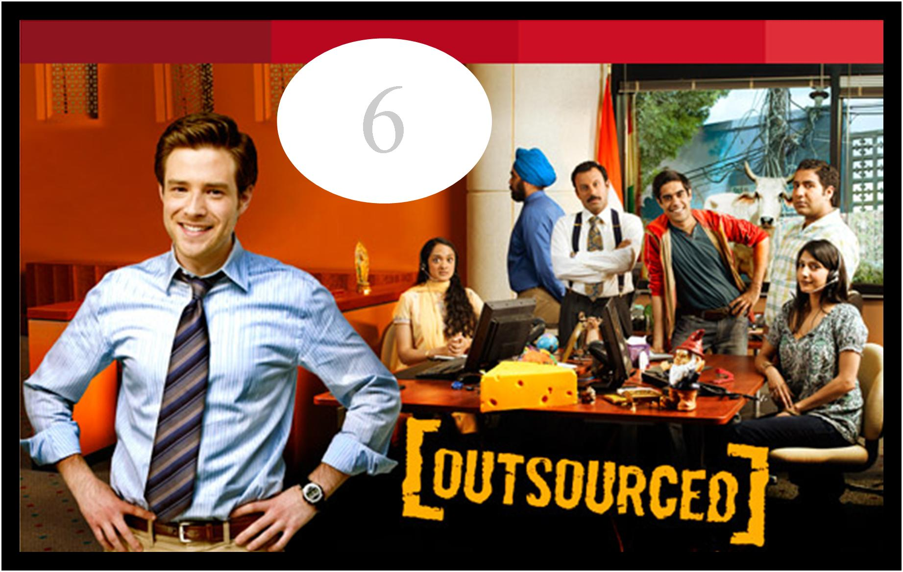 6 outsourced