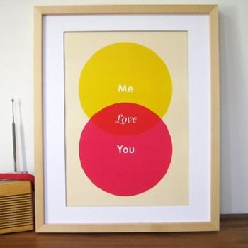 LOVE Venn Diagram via nerd valentine