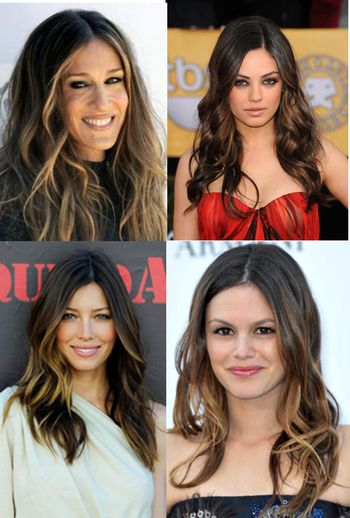 Ombre celebs