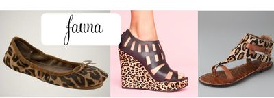 Fauna leopard print shoes
