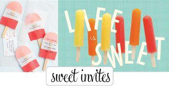 Sweet invites
