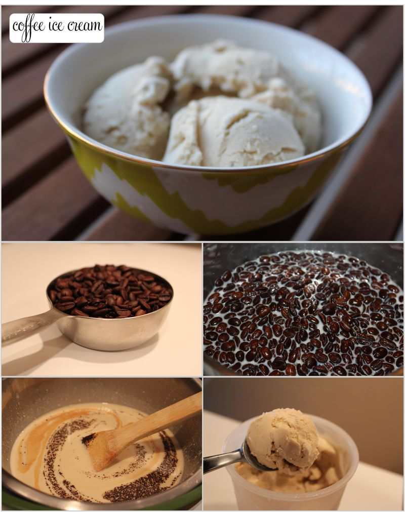 Coffee ice cream coll