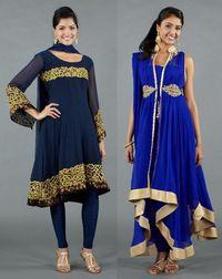 Luxemi blue salwars