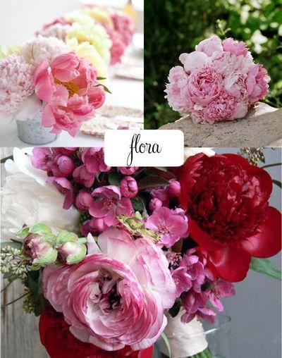 Flora peonies
