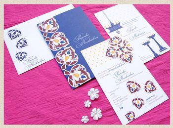 Wedding invitation_priyanka custom