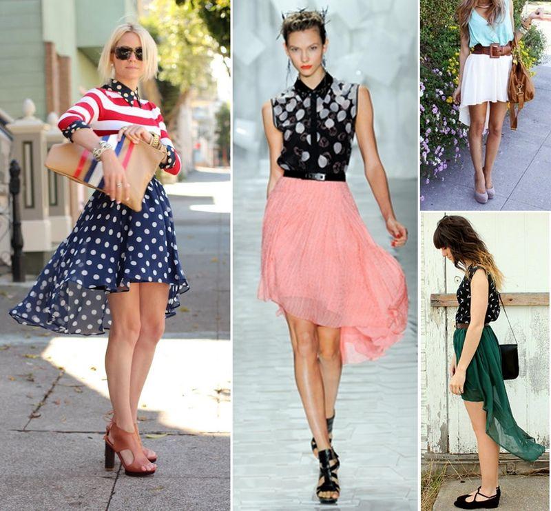 High low skirt main