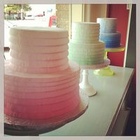 Society bakery ombre cakes