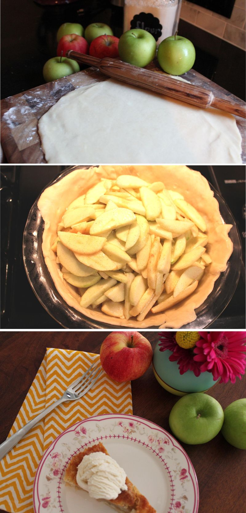 Apple pie steps
