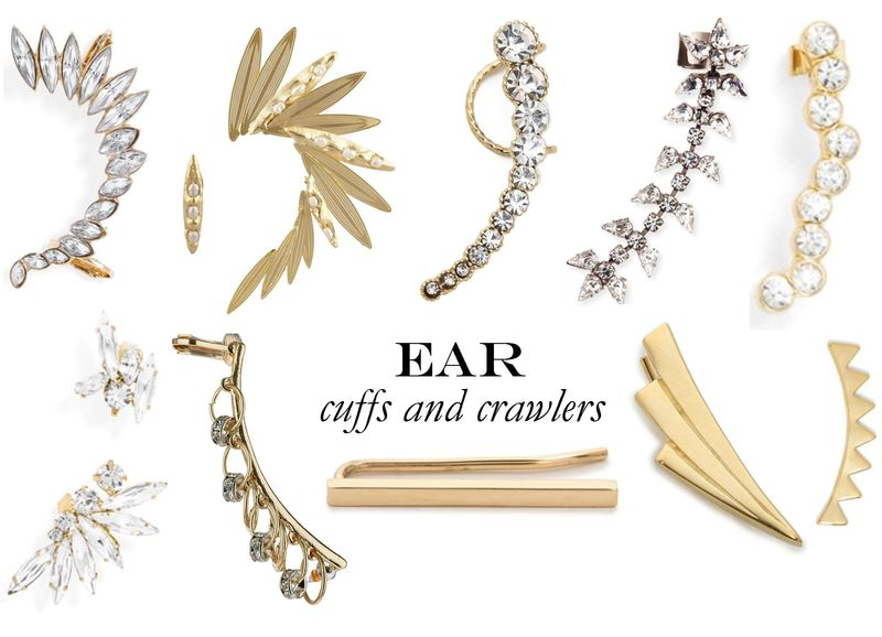 Ear cuffs and crawlers